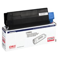 43034802 OEM Toner Cartridge, 1500 Page Yield, Magenta