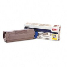 OEM Toner Cartridge, 5000 Page Yield, Yellow