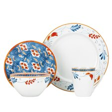 <strong>Kathy Ireland by Gorham</strong> Spanish Botanica 4 Piece Place Setting