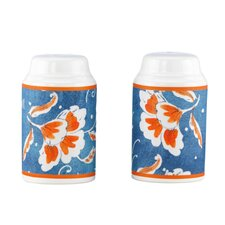 Spanish Botanica Salt and Pepper Shaker Set