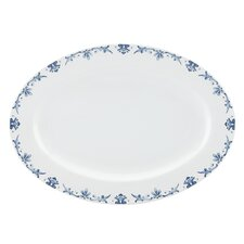 "Nature's Song 14"" Oval Platter"
