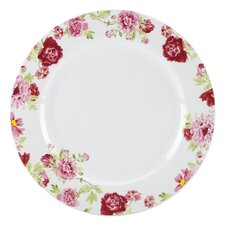 "<strong>Kathy Ireland by Gorham</strong> Blossoming Rose 11"" Dinner Plate"