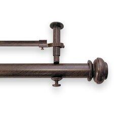 Icon Adjustable Curtain Double Rod Set