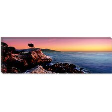 <strong>iCanvasArt</strong> 17-Mile Drive, Carmel, Monterey County, California Canvas Wall Art