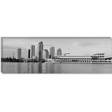 <strong>iCanvasArt</strong> Tampa Panoramic Skyline Cityscape Canvas Wall Art
