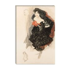 """Study for Judith ll"" Canvas Wall Art by Gustav Klimt"