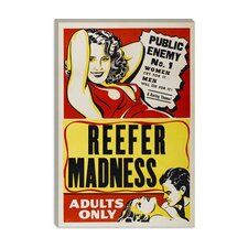 <strong>iCanvasArt</strong> Reefer Madness Vintage Movie Poster