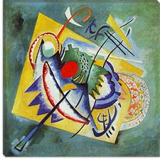 "<strong>iCanvasArt</strong> ""Red Oval"" Canvas Wall Art by Wassily Kandinsky Prints"