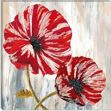 <strong>iCanvasArt</strong> Red Poppies I from Willow Way Studios, Inc collection Canvas Wall Art