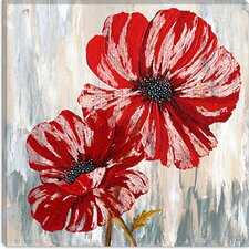 <strong>iCanvasArt</strong> Red Poppies II from Willow Way Studios, Inc collection Canvas Wall Art