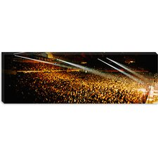 <strong>iCanvasArt</strong> Rock Concert Interior Chicago II Canvas Wall Art