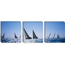 <strong>iCanvasArt</strong> Farr 40's Race during Key West Race Week, Key West, Florida Canvas Wall Art