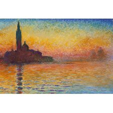 "<strong>iCanvasArt</strong> ""Saint-Georges Majeur"" Canvas Wall Art by Claude Monet"