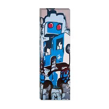 <strong>iCanvasArt</strong> Robo Graf Canvas Wall Art