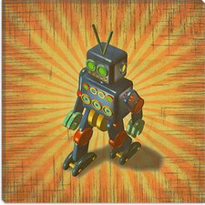 """Robot II"" Canvas Wall Art by Marcus Jules"