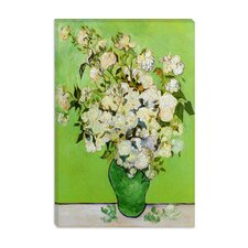 """Roses 1890"" Canvas Wall Art by Vincent Van Gogh"