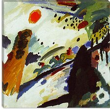 """Romantic Landscape"" Canvas Wall Art by Wassily Kandinsky"