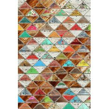 'Love Pattern' by Maximilian San Graphic Art on Canvas