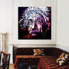 New Einstein 002 Canvas Wall Art by Rock Demarco