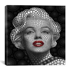 'Marilyn Monroe' by Ben Heine Graphic Art on Canvas