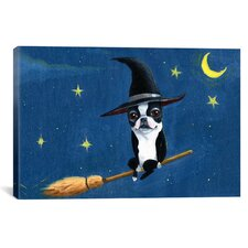 'BT Witch' by Brian Rubenacker Painting Print on Canvas