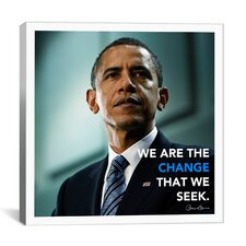 Barack Obama Quote Canvas Wall Art
