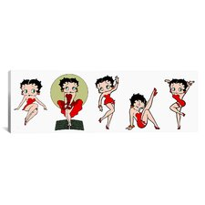 Betty Boop Star Graphic Art on Canvas