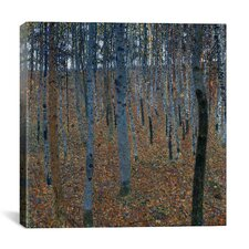 'Buchenwald 1 (Beech Grove 1)' by Gustav Klimt Painting Print on Canvas