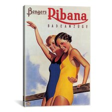 Benger's Ribana (Swimsuit) Vintage Advertisement on Canvas