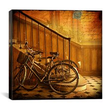 """Bikes 4"" Canvas Wall Art by Dawne Polis"