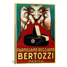 Bertozzi Vintage Advertisement on Canvas