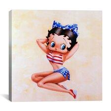 Betty Boop Americana Canvas Wall Art