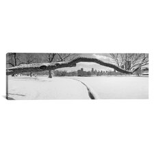Panoramic Lincoln Park, Chicago, Illinois Photographic Print on Canvas