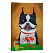'BT Poker' by Brian Rubenacker Painting Print on Canvas