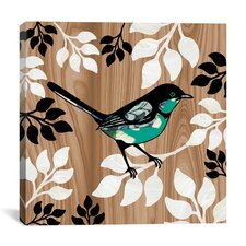 """Bird Patchwork II"" Canvas Wall Art by Erin Clark"