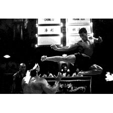 Bloodsport: Van Damme Painting Print on Canvas