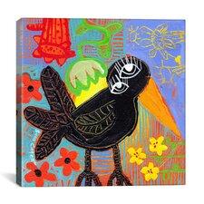 """Blackbird Boogie"" Canvas Wall Art by Sara Catena"