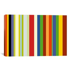 Striped Barnum & Bailey Circus Graphic Art on Canvas