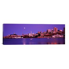 Panoramic Buildings at the Waterfront, San Francisco, California Photographic Print on Canvas