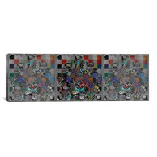 Canada, Coat of Arms Panoramic Graphic Art on Canvas