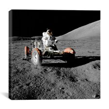 Apollo 17 Lunar Rover (1972) Canvas Wall Art