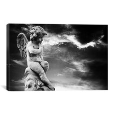 Angel Sculpture Photographic Print on Canvas
