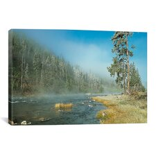 'Yellowstone 01' by Gordon Semmens Photographic Print on Canvas