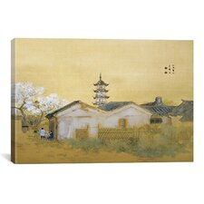 'Calm Spring in Jiangnan' by Takeuchi Seiho Painting Print on Canvas