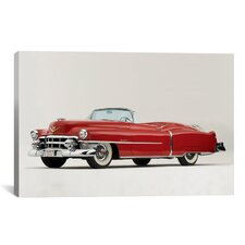 Cars and Motorcycles Cadillac Eldorado Convertible 1953 Photographic Print on Canvas