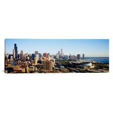 Panoramic Chicago, Illinois Photographic Print on Canvas