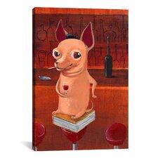 'Chi Bar' by Brian Rubenacker Graphic Art on Canvas