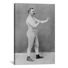 Boxing Champion John L. Sullivan Photographic Print on Canvas