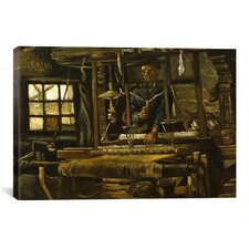 'A Weaver's Cottage' by Vincent van Gogh Painting Print on Canvas