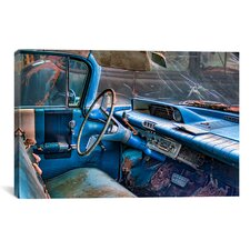 '60 Buick Lesabre Interior' by Bob Rouse Graphic Art on Canvas